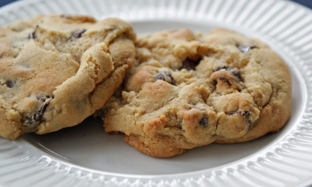Lower fat chocolate chip cookies dinner with julie for Low fat chocolate biscuits