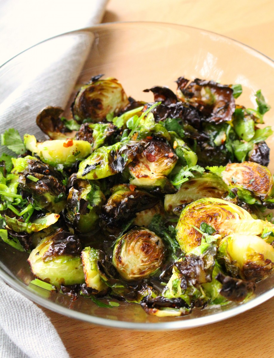 Fish sauce Brussels sprouts 2