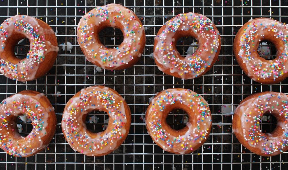 Sprinkle doughnuts 1