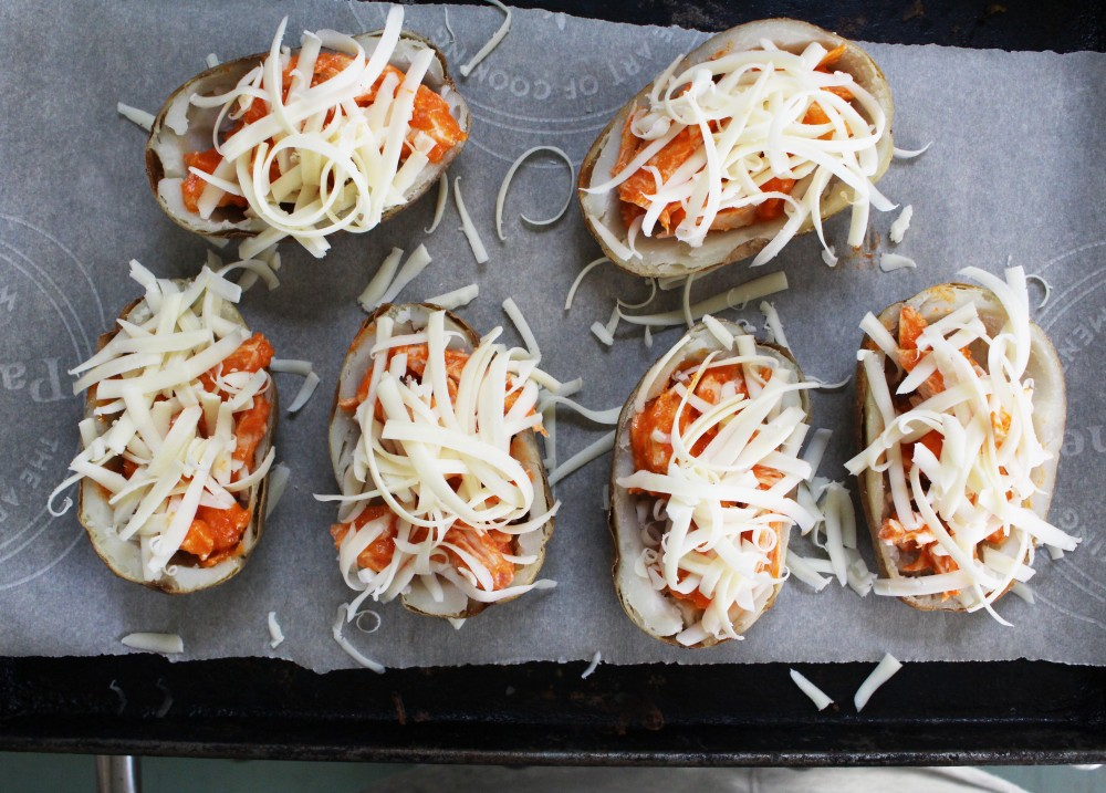 buffalo chicken potato skins 3