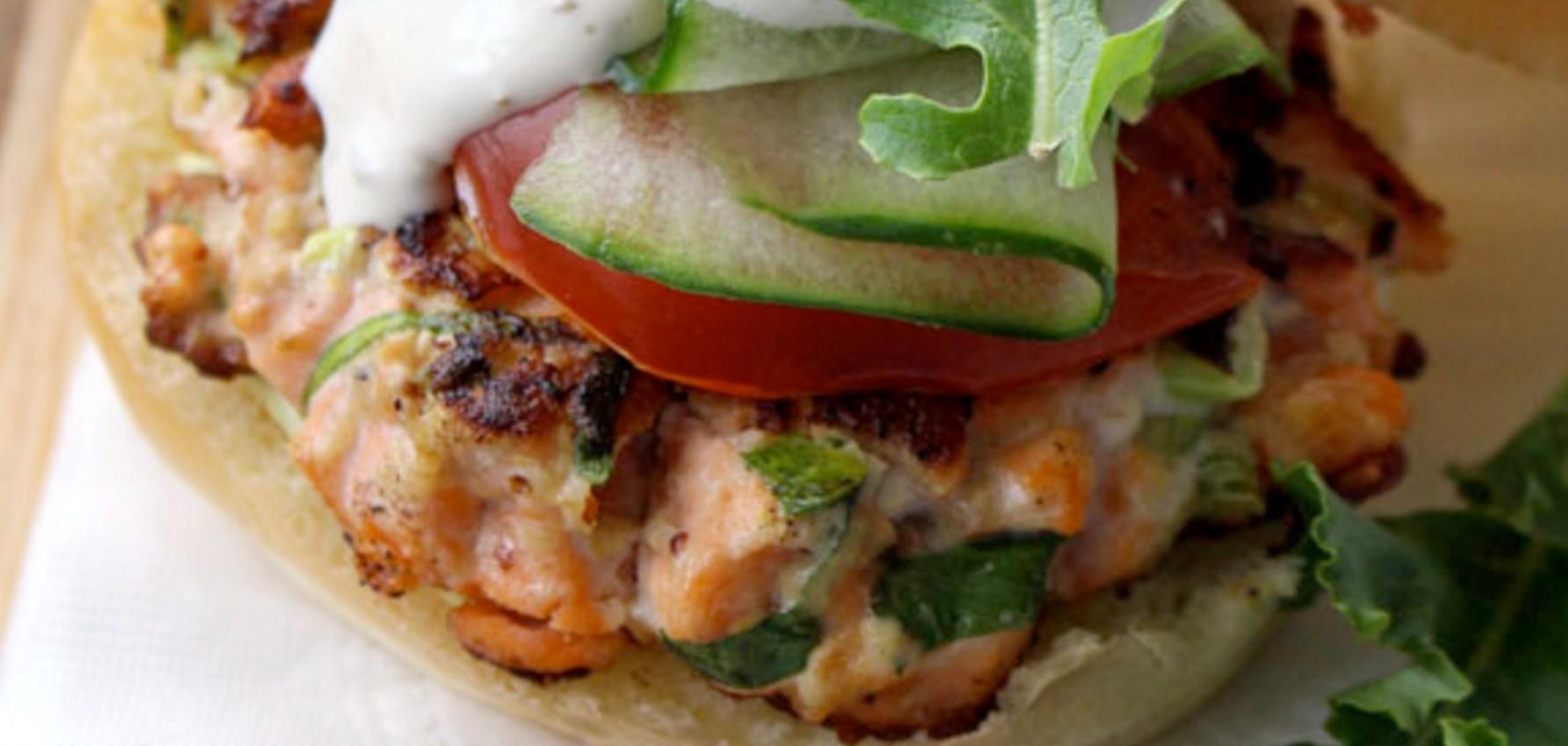 salmon-burger