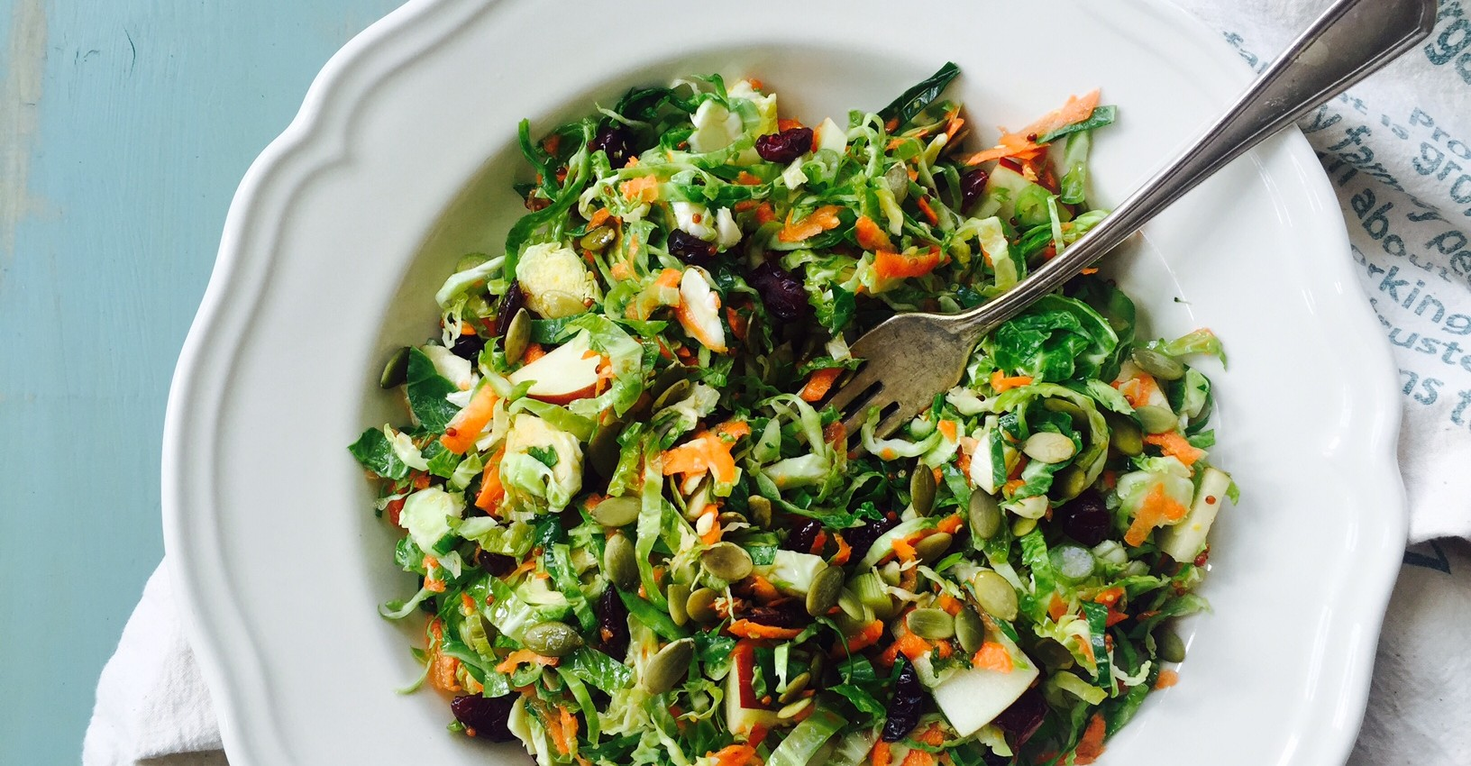 brussels sprout salad 1