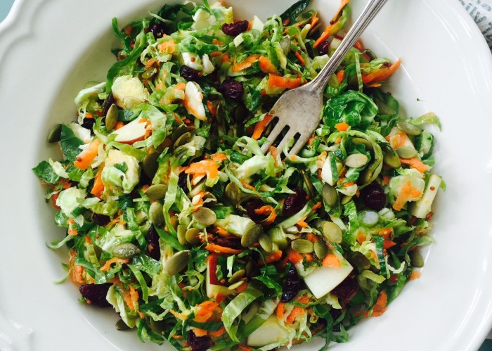 brussels sprout salad 2