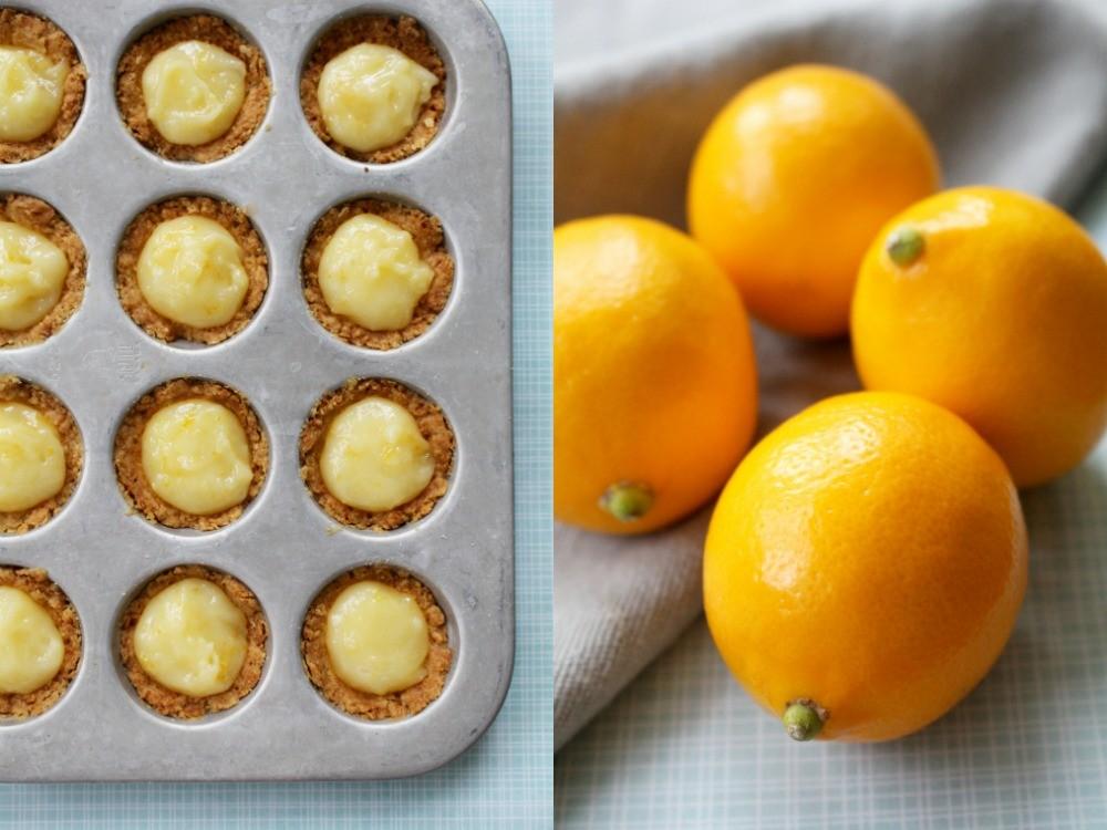 meyer lemon collage