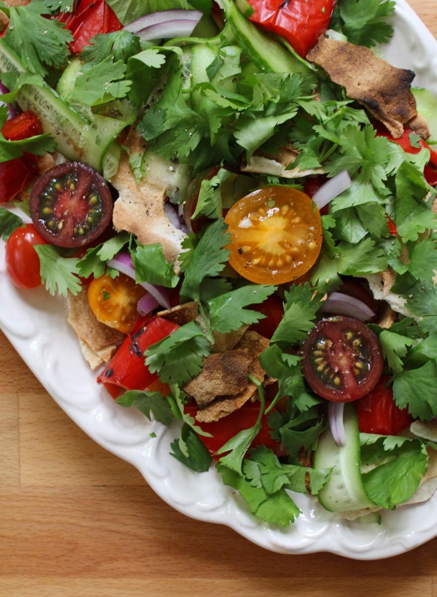Fattoush salad 1