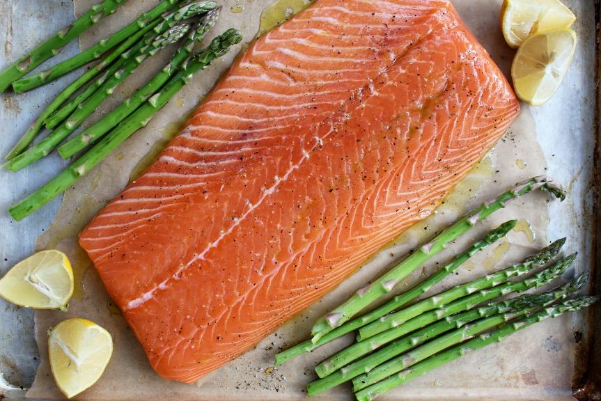 roasting salmon 2