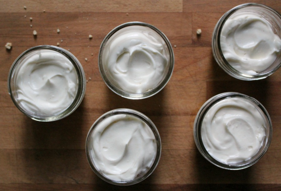 cheesecakes in jars 2