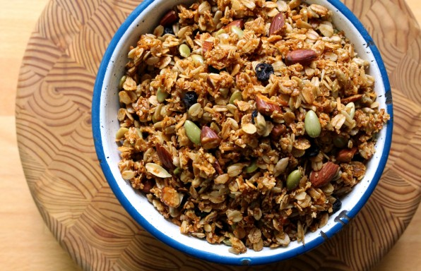 Susan Musgrave's granola