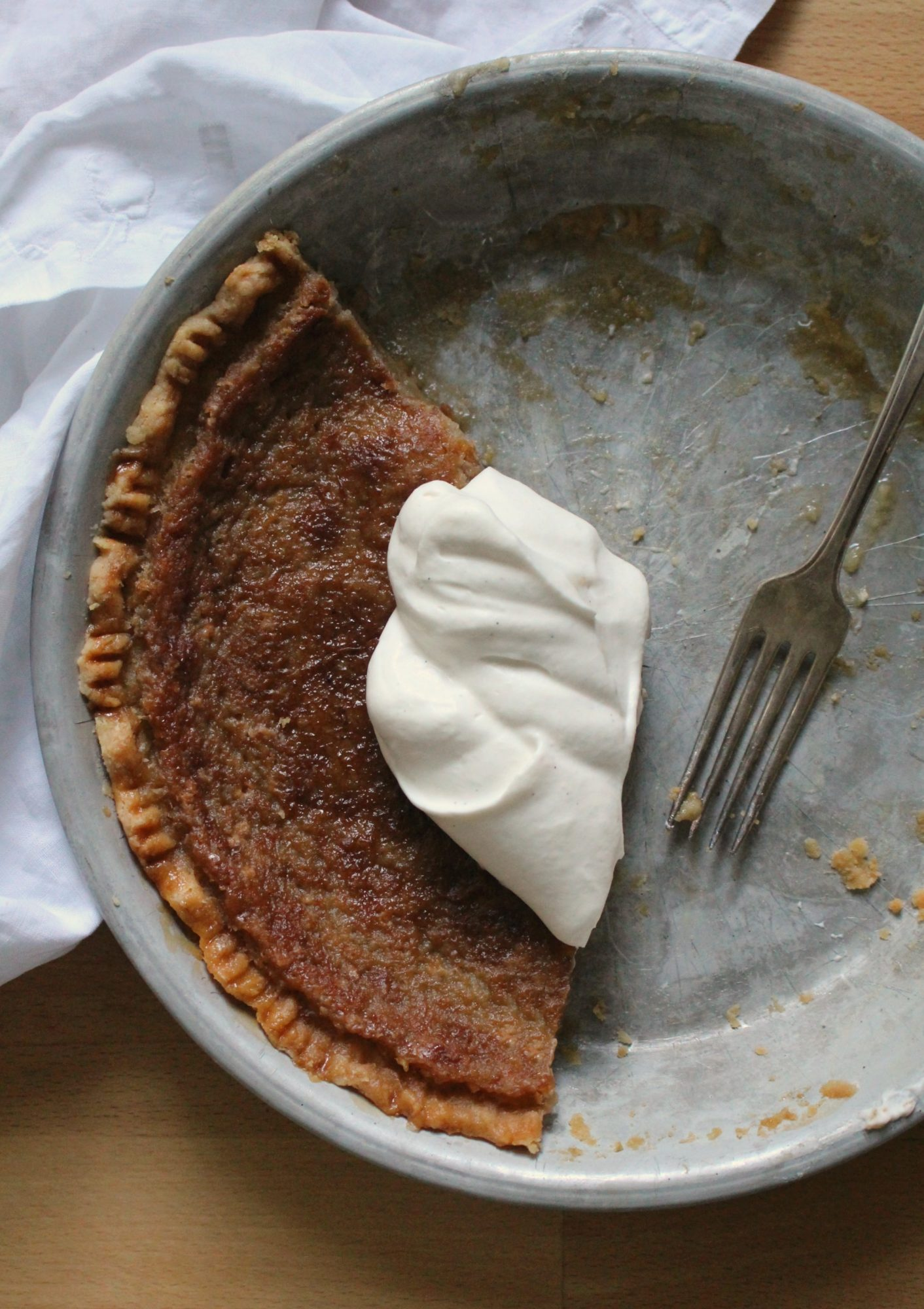 Maple Syrup Pie - Dinner With Julie