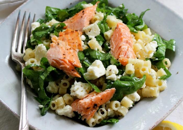 Spinach & feta pasta salad 2
