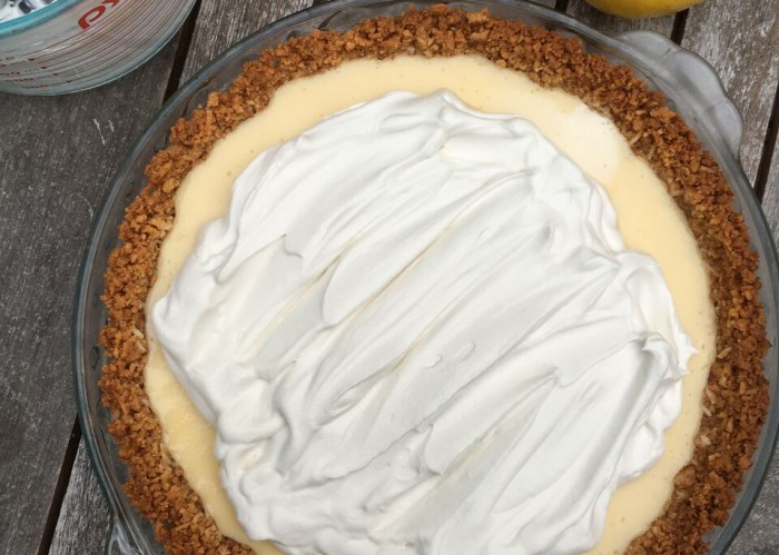 lemon coconut pie 3