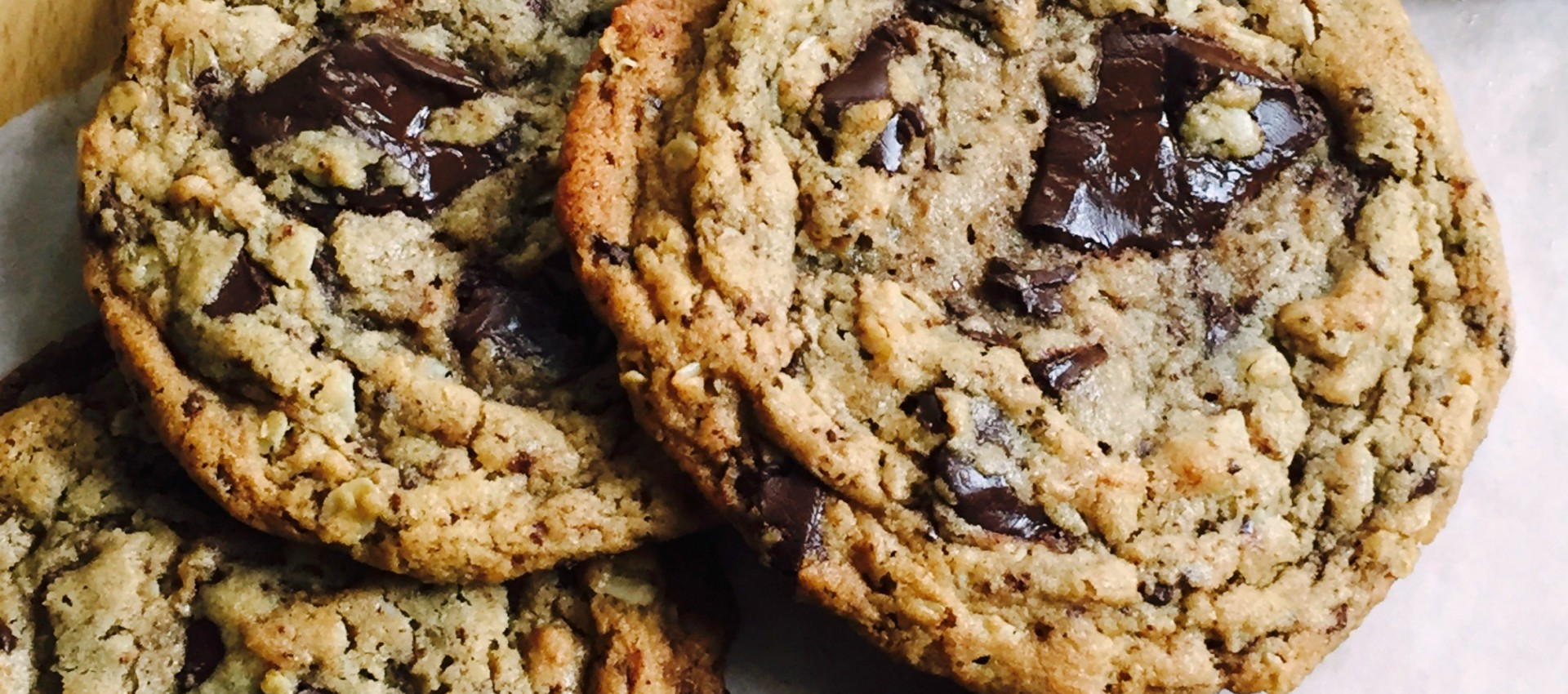 Salted Chocolate Peanut Butter Chunk Oatmeal Cookies Recipe ...