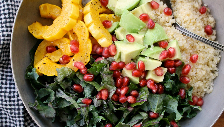kale-squash-pomegranate-salad-3