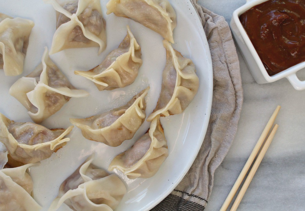 Dumplings + potstickers 1