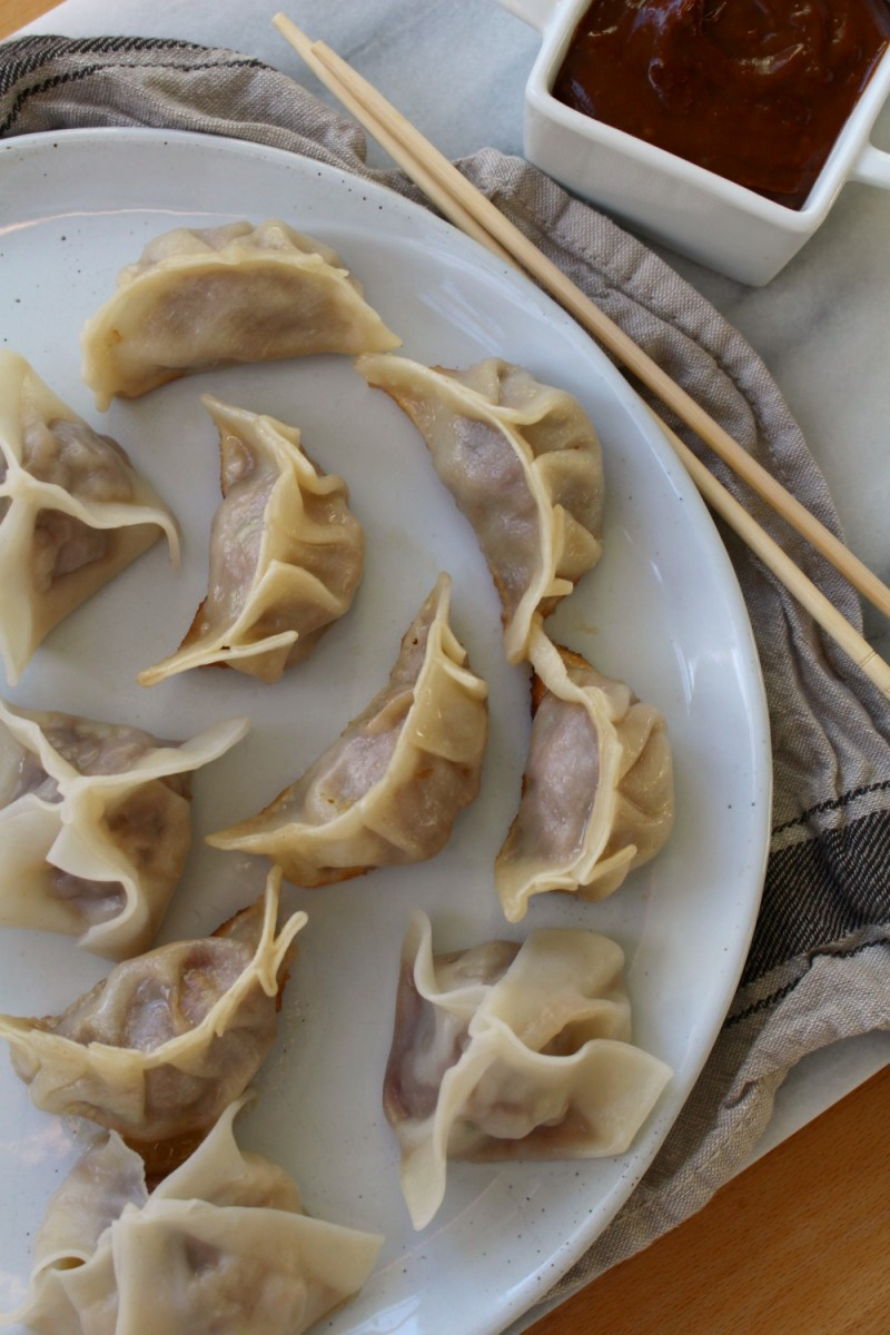 Dumplings + potstickers 2