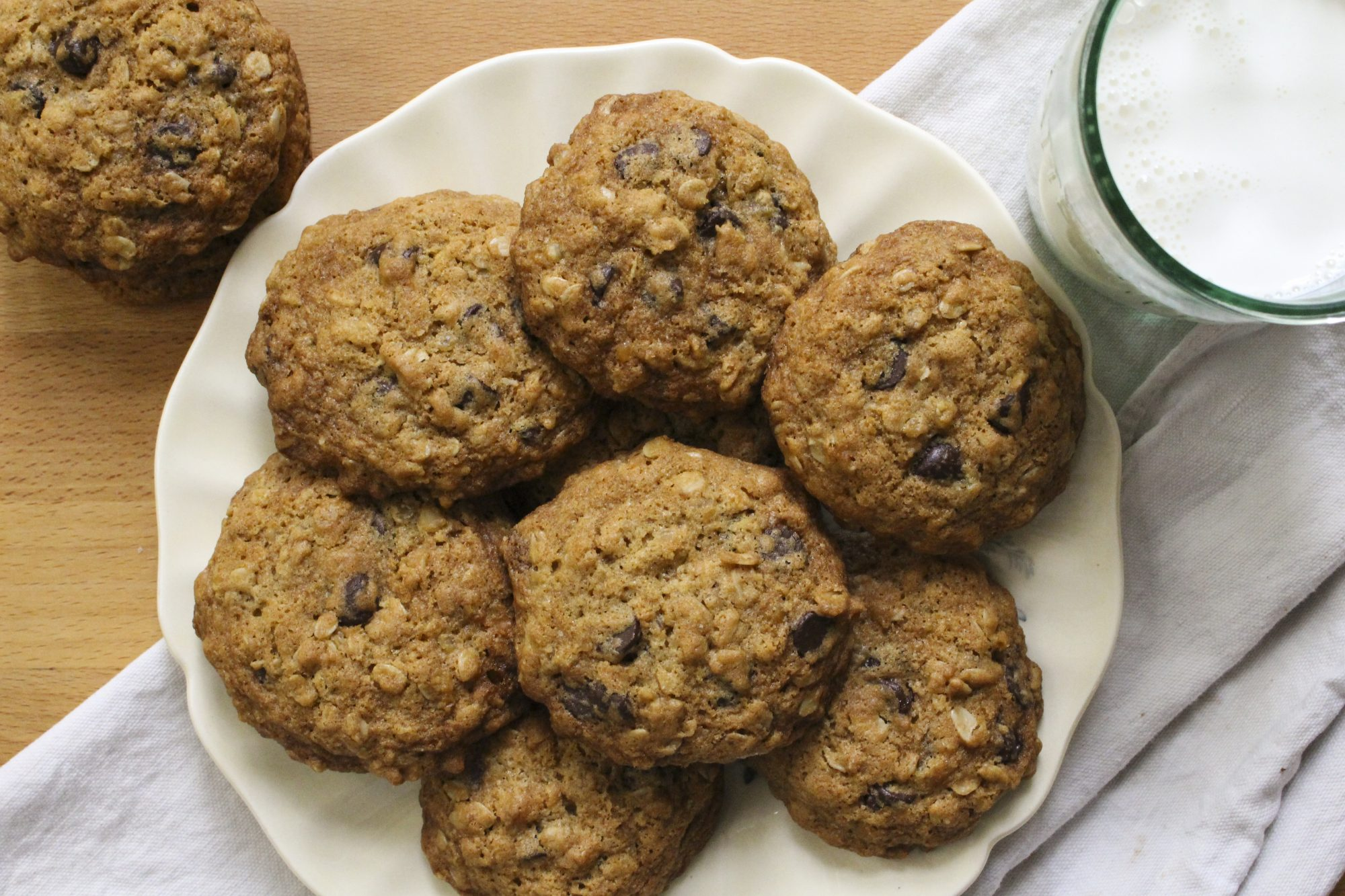 Oatmeal Chocolate Chip Cookies w Lentils 2