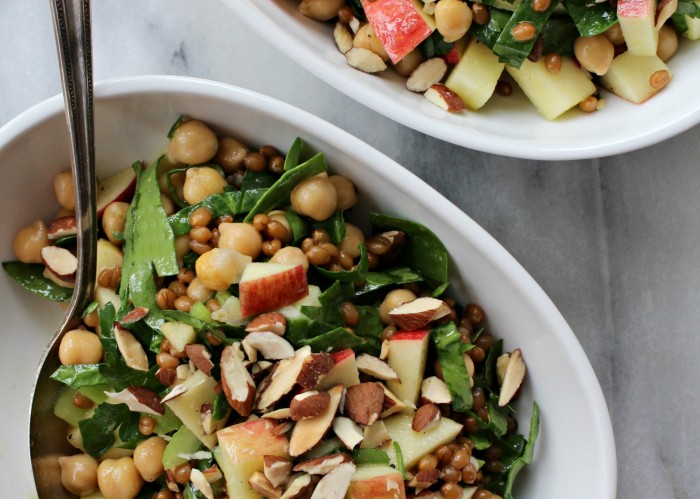 Wheat Berry & Chickpea Salad 1