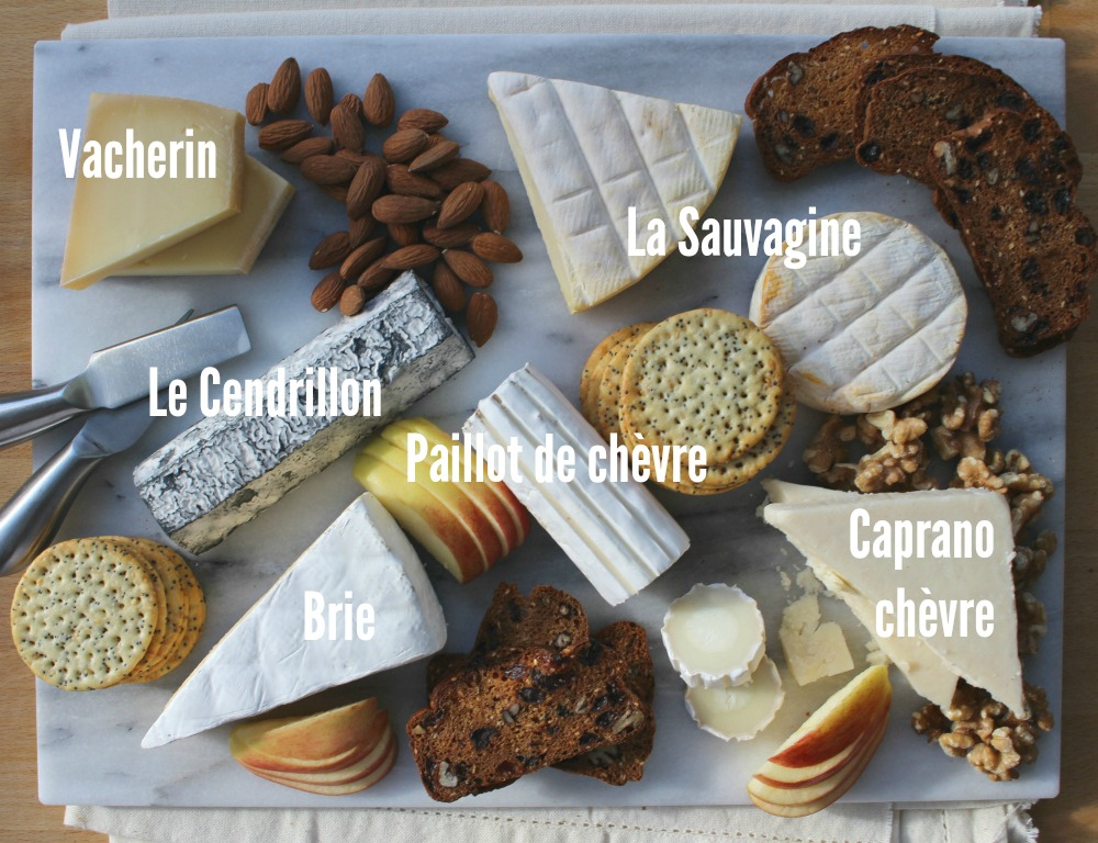 Alexis de Portneuf cheese board text