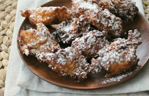 Apple Ricotta Fritters 2