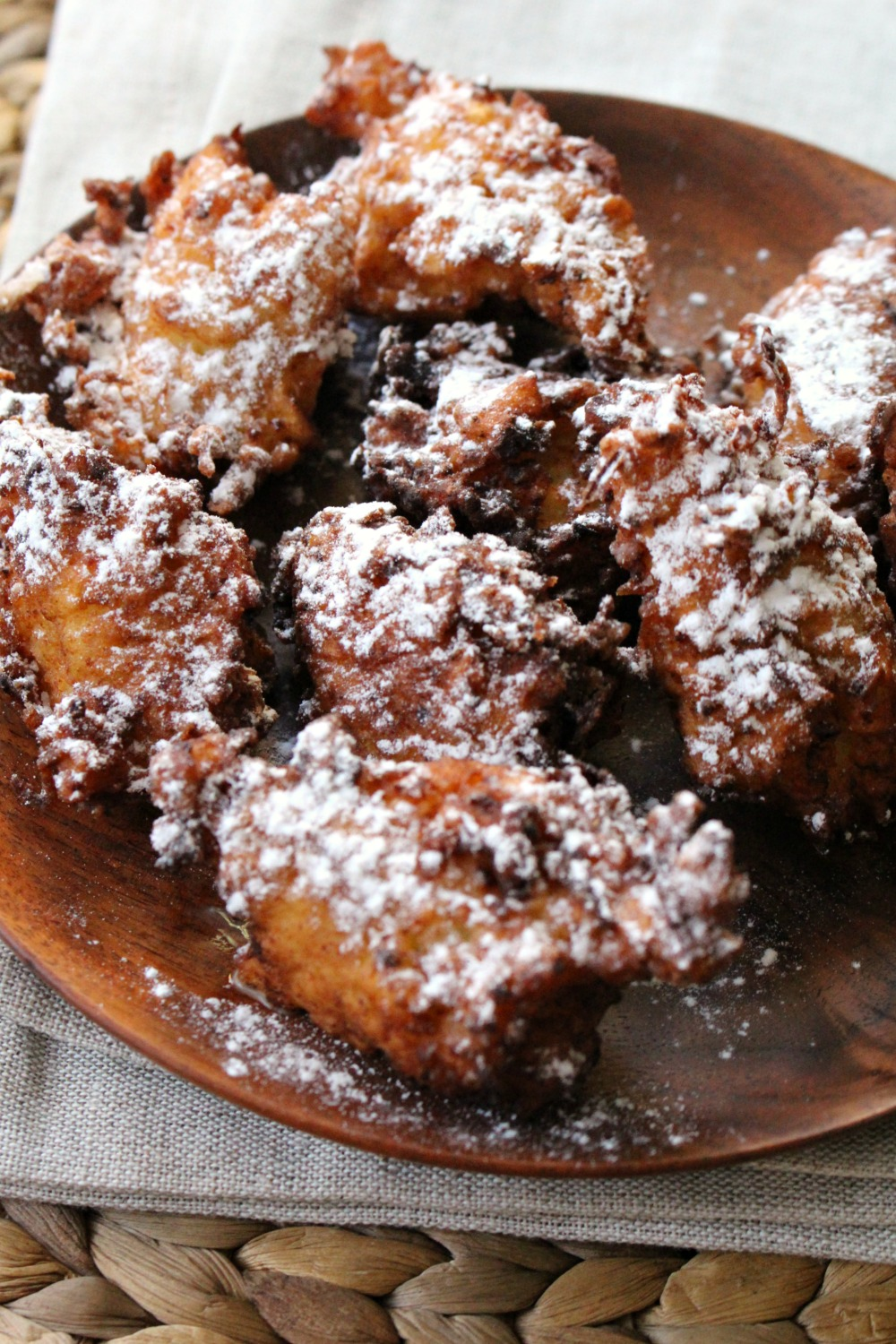 Apple Ricotta Fritters 7
