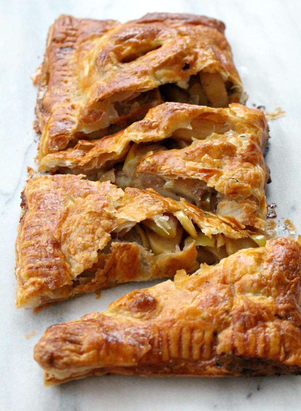 Apple Slab Pie 4
