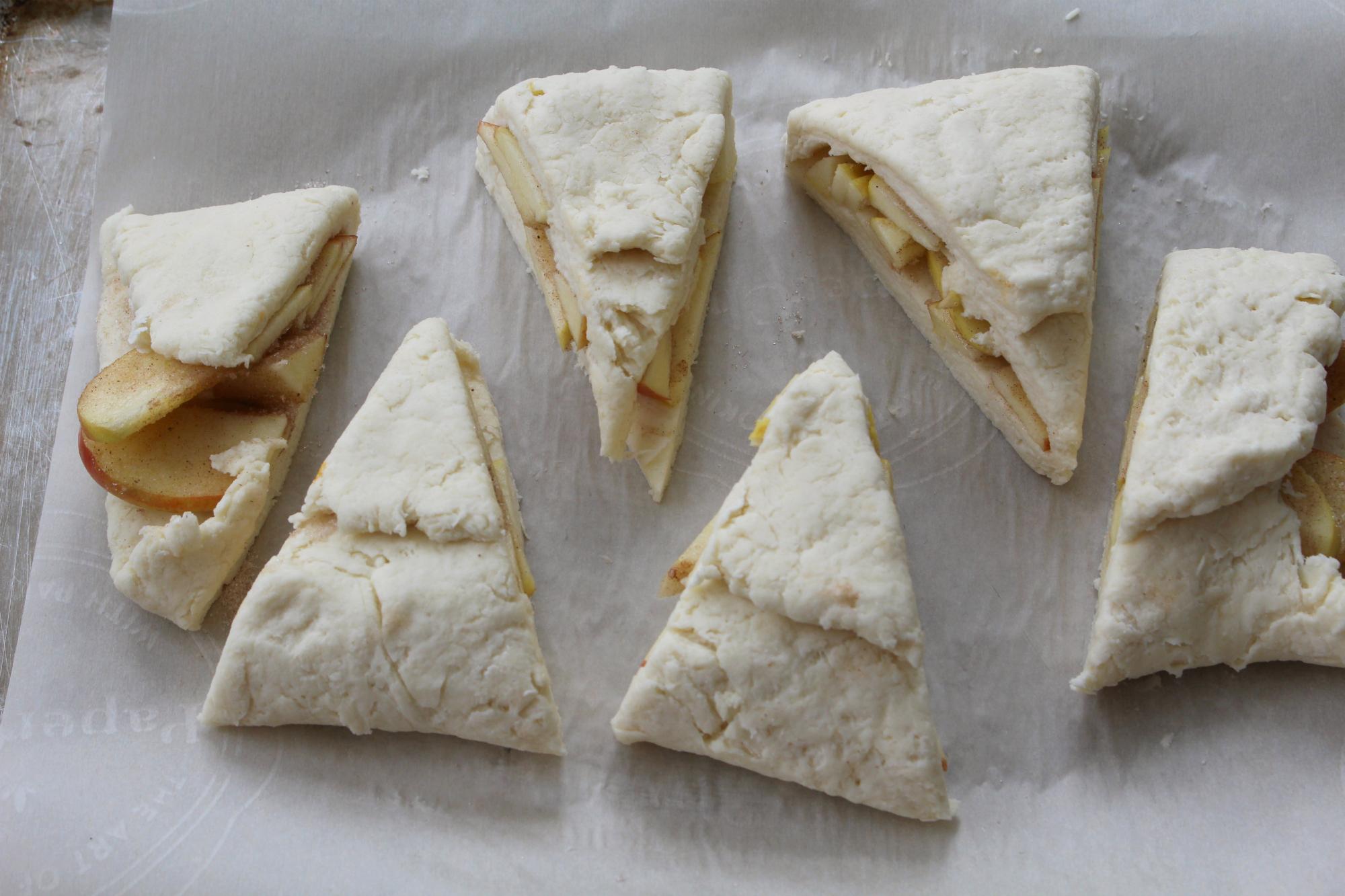 Apple pie scones 16