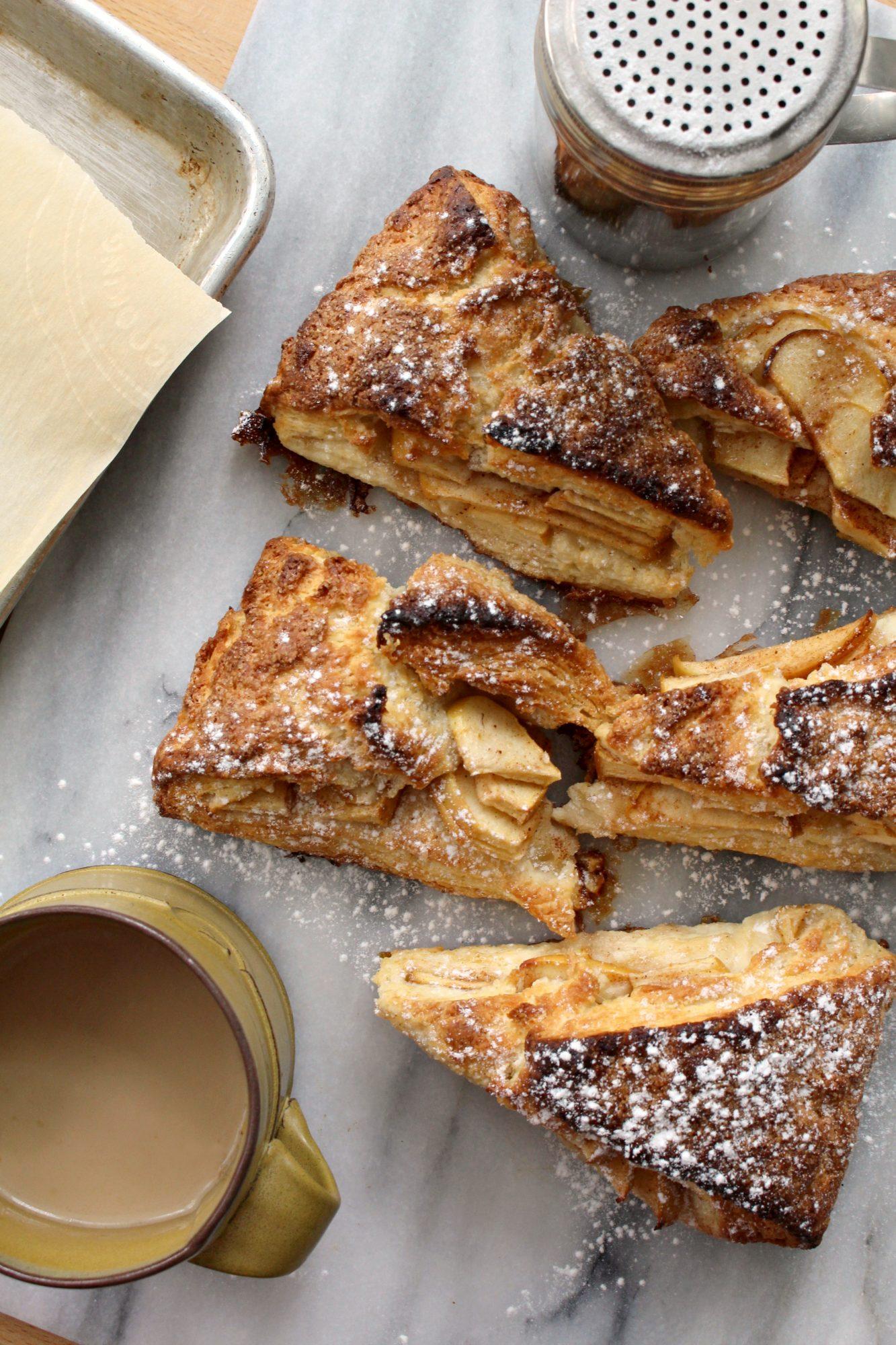 Apple pie scones 19