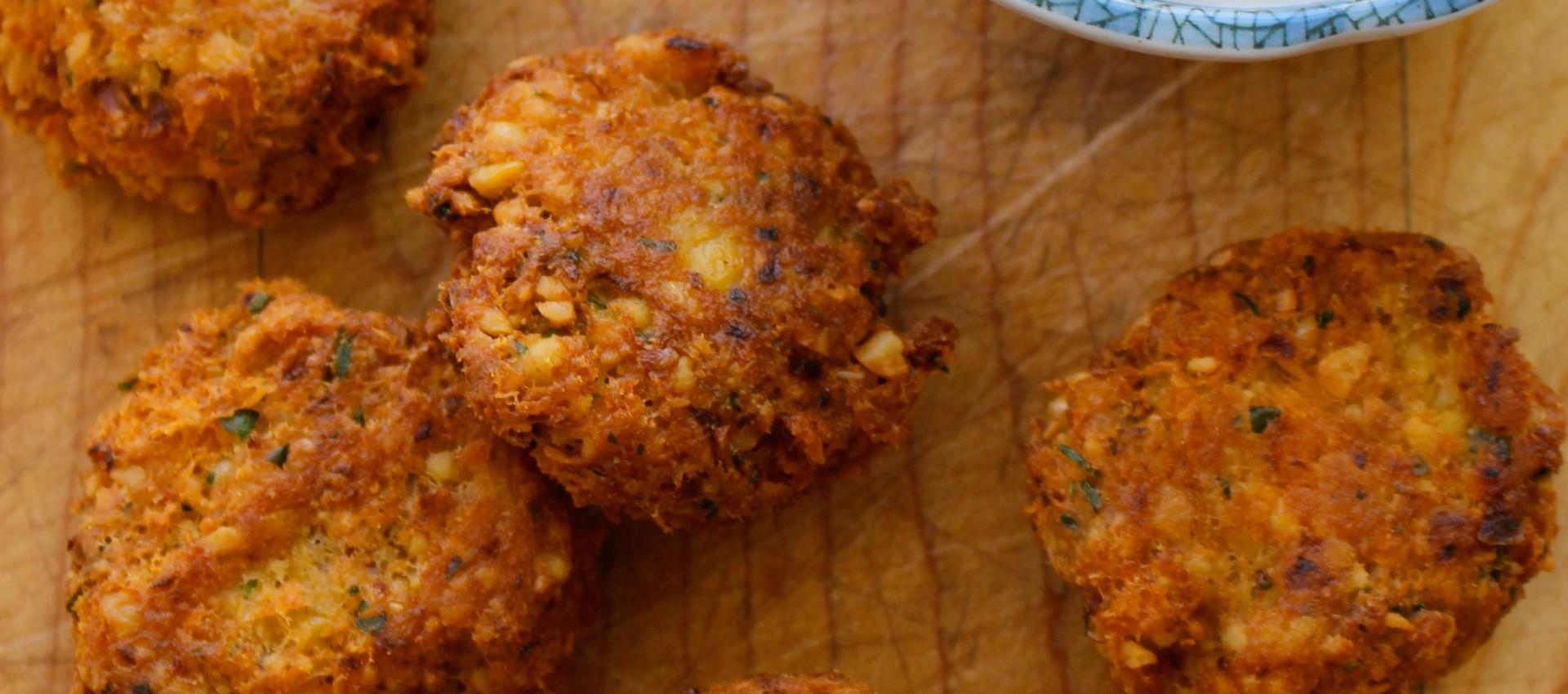 Salmon Falafel
