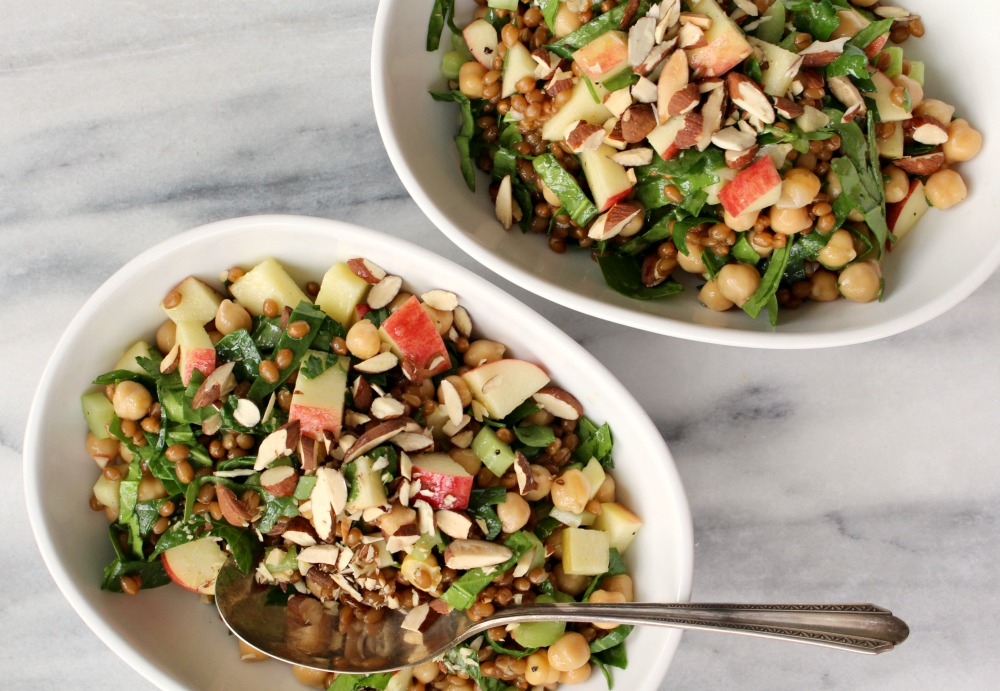 Wheat berry & chickpea salad 2