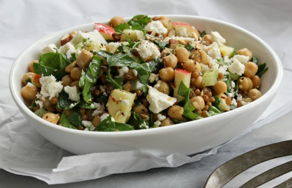 Wheat berry & chickpea salad 3