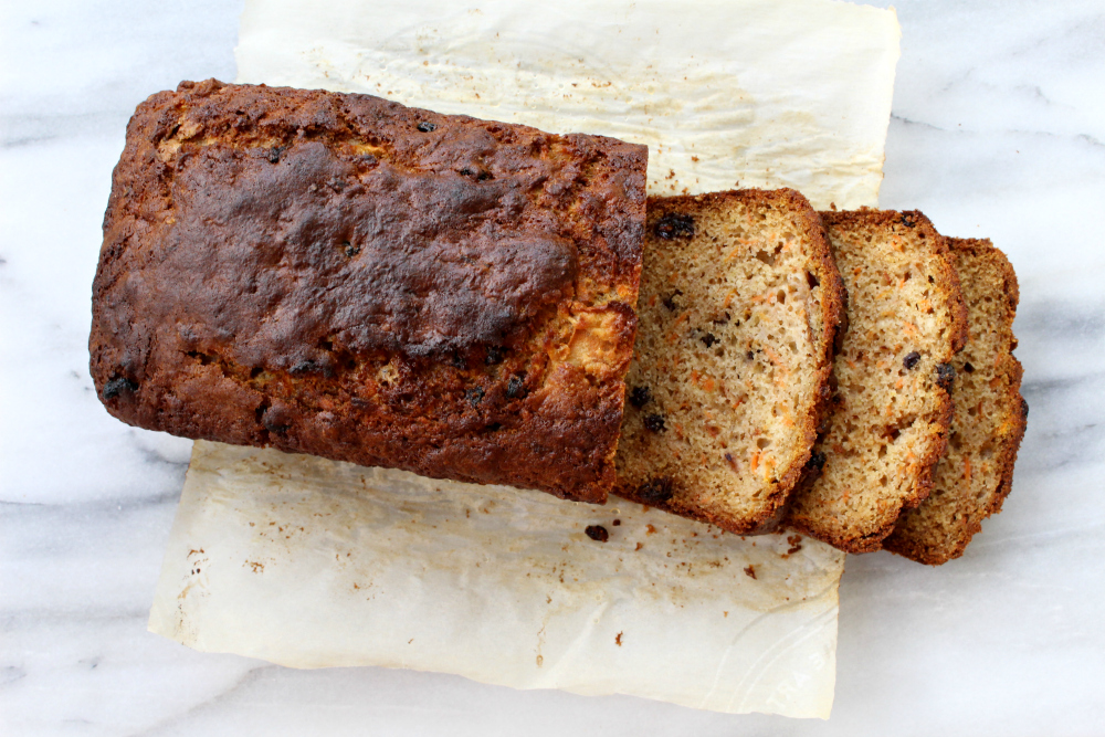 pear carrot loaf 2