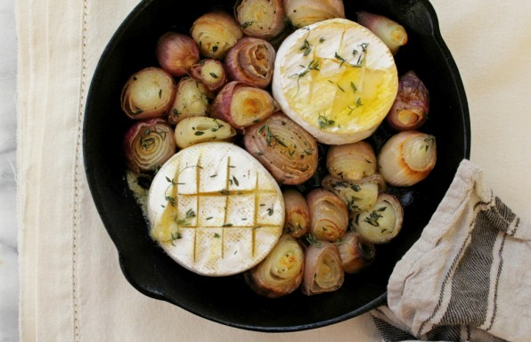 roasted onions + brie 1