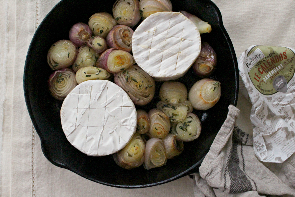roasting onions + cheese