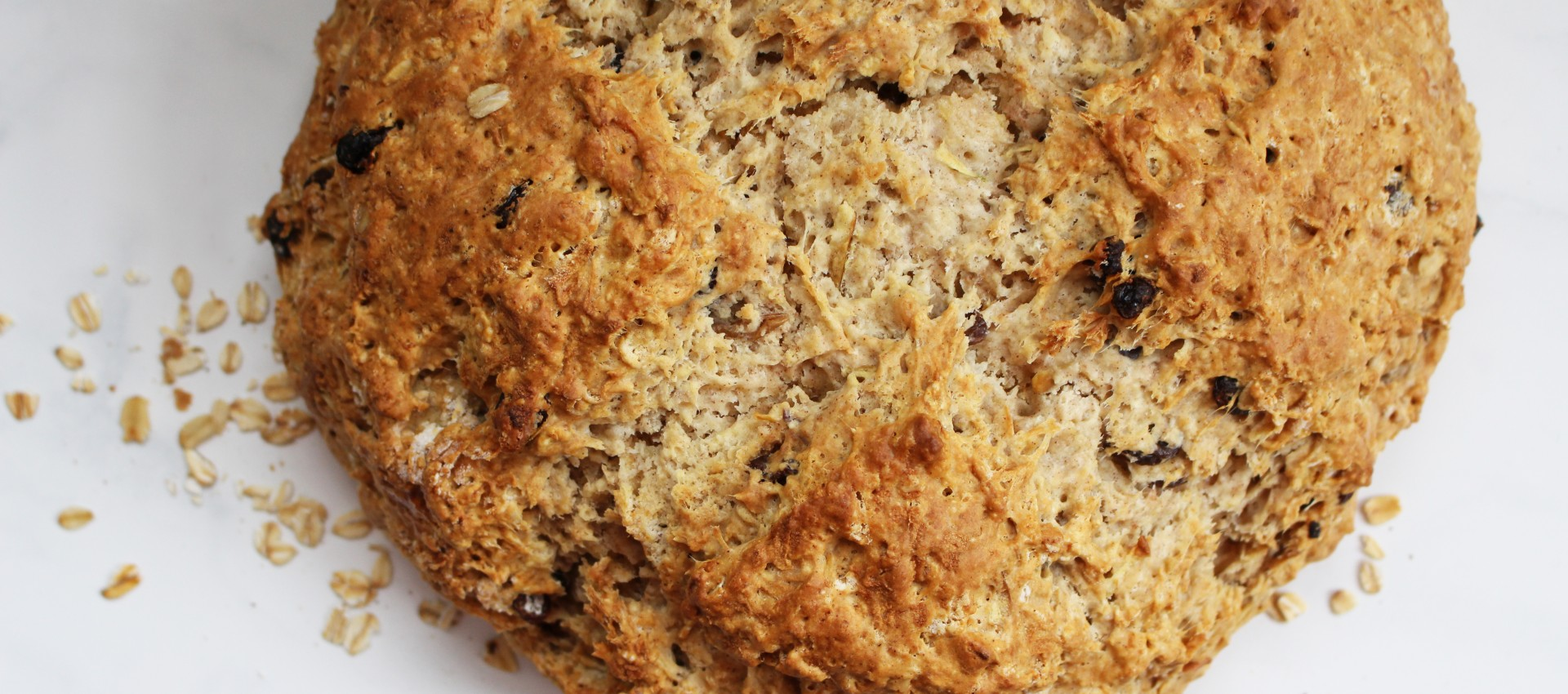 Cinnamon Raisin Apple Irish Soda Bread 3