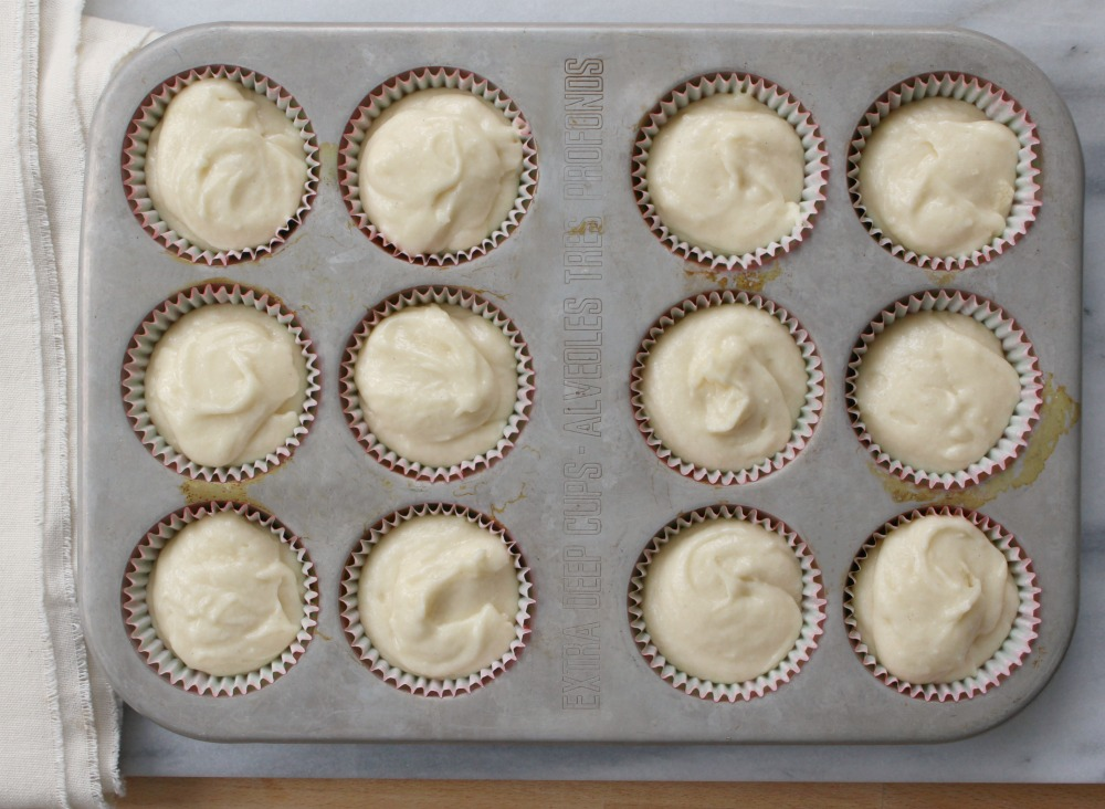 Unbaked one egg cakes