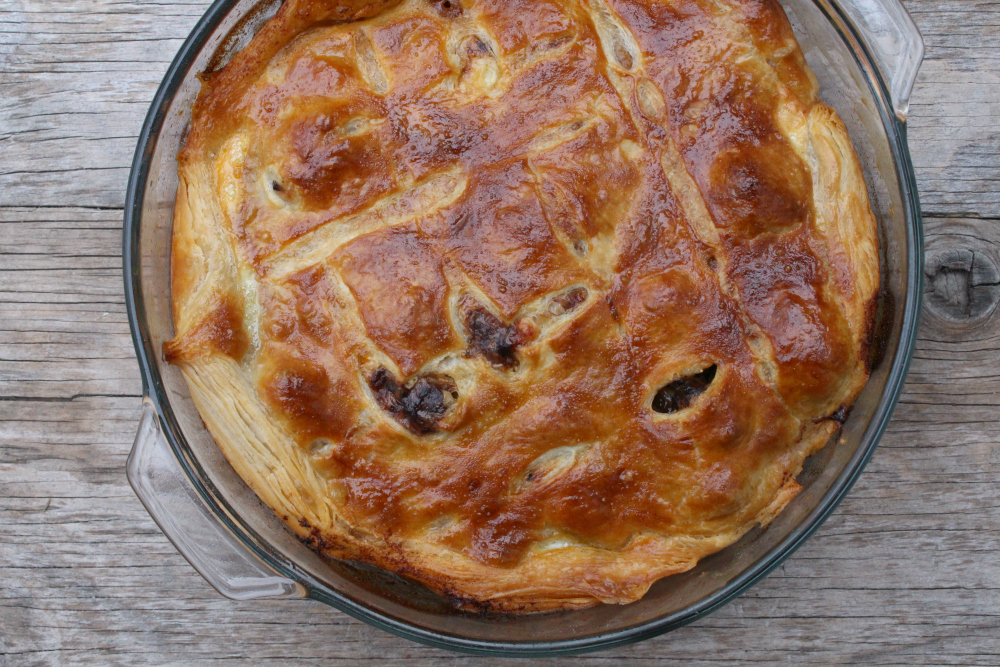 beef & guinness pie 6