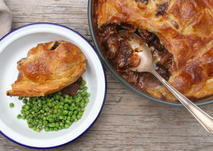beef & guinness pie 9