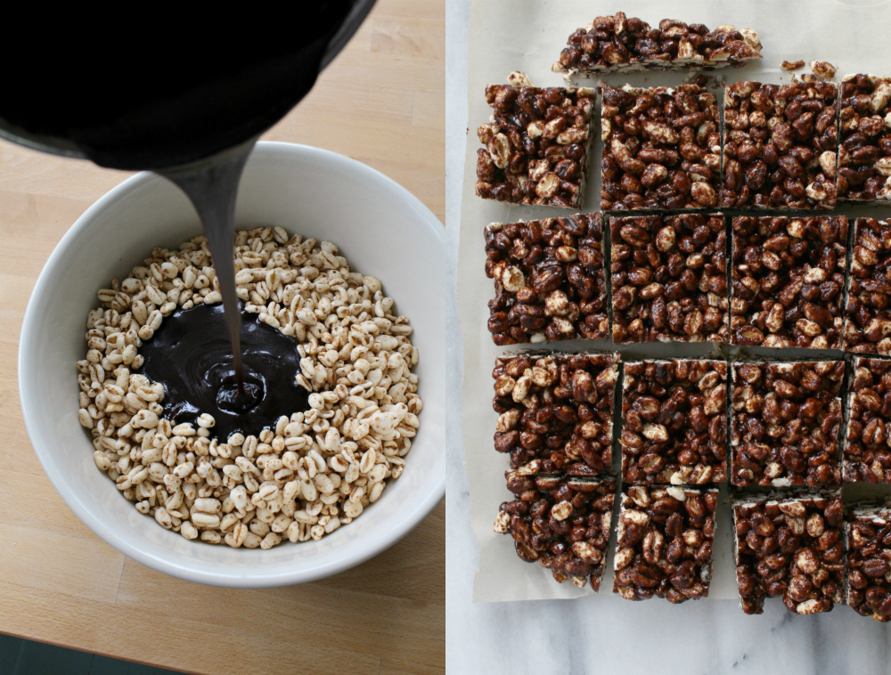 Puffed wheat squares 10