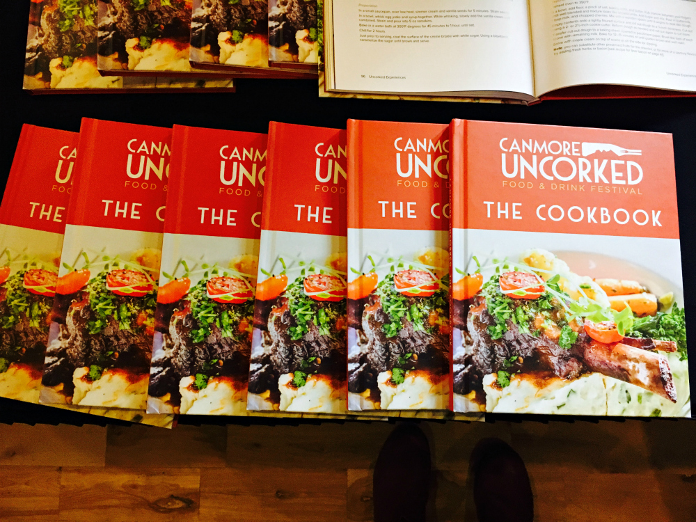 Canmore uncorked cookbook