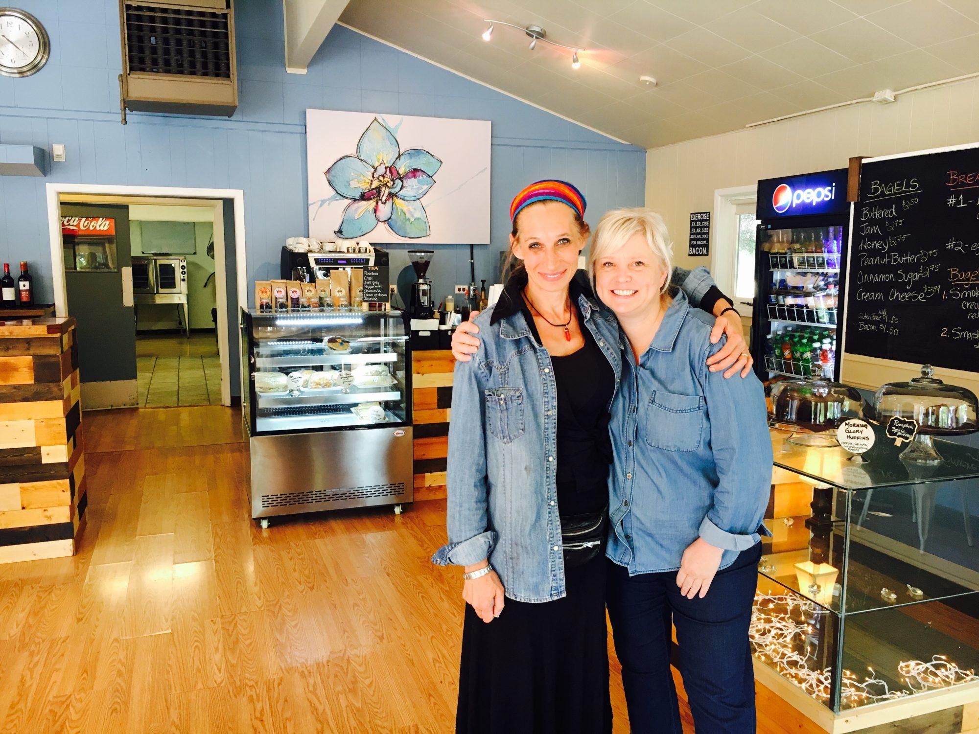 Cathy + Lara
