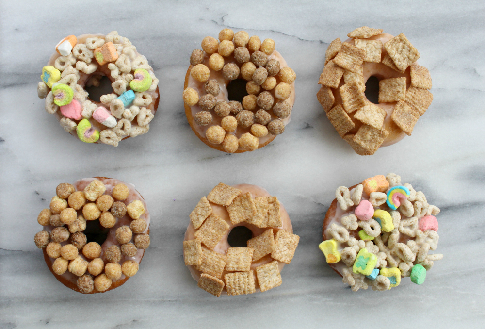Cereal doughnuts 1