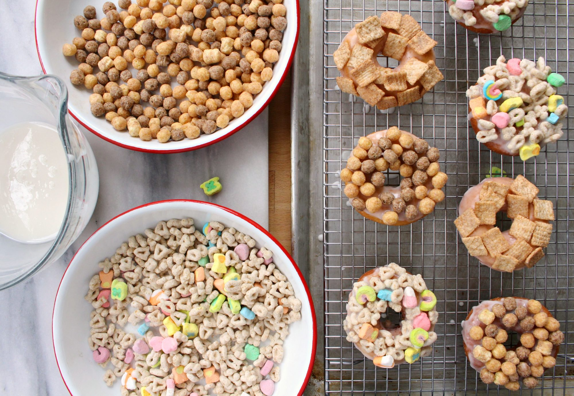 Cereal doughnuts 5