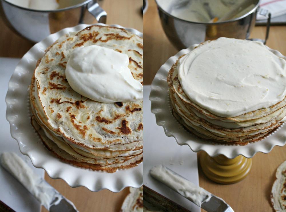 Crepe cake 1