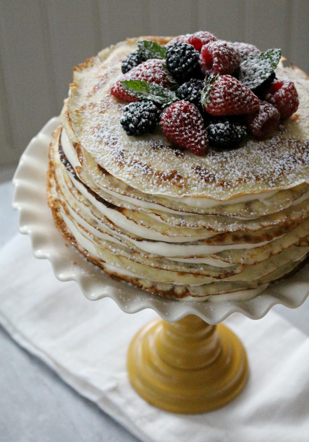 Crepe cake 4