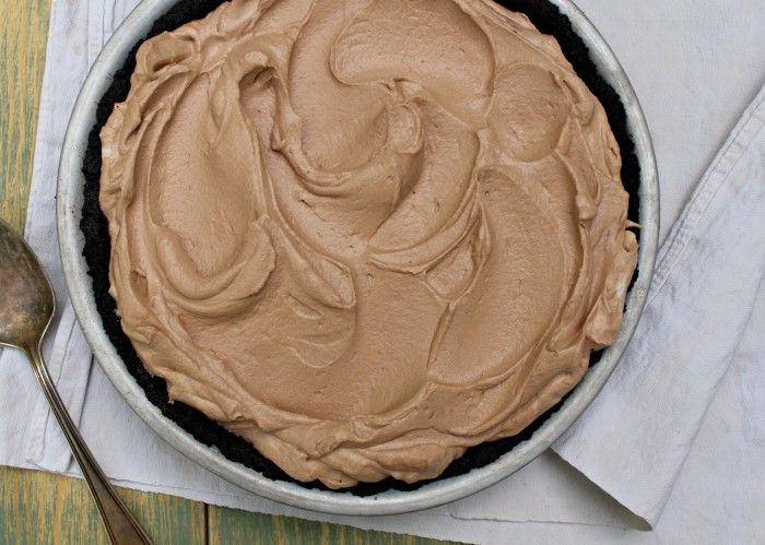 Chocolate marshmallow pie 1