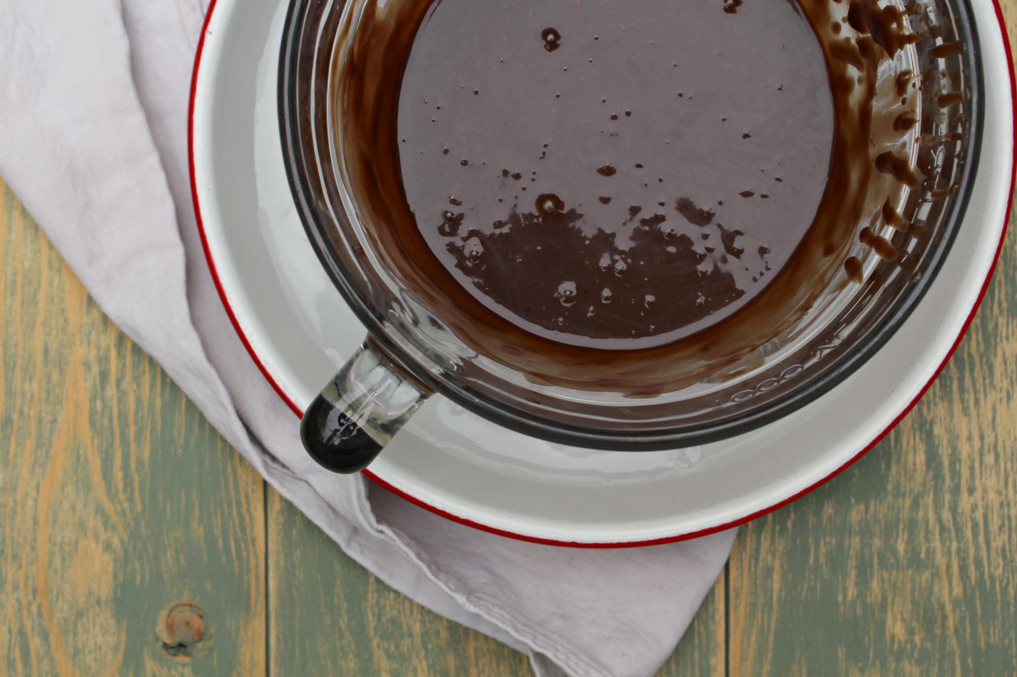 Chocolate marshmallow pie 4