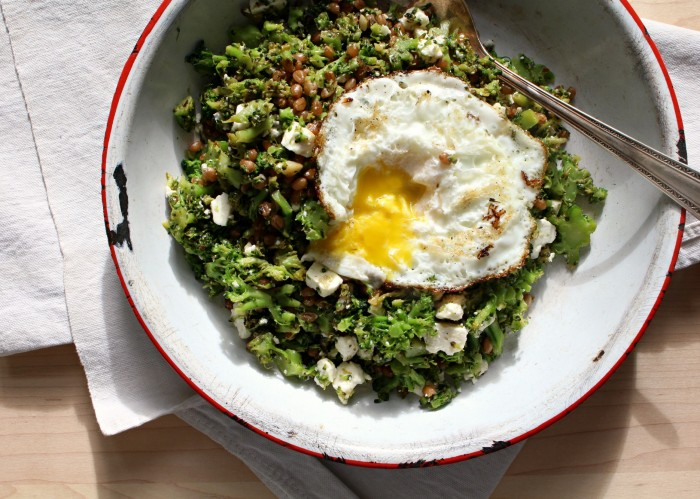 broccoli rubble with egg