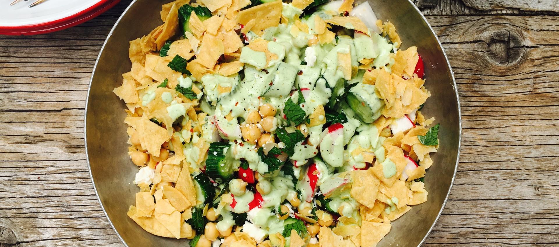 smash salad