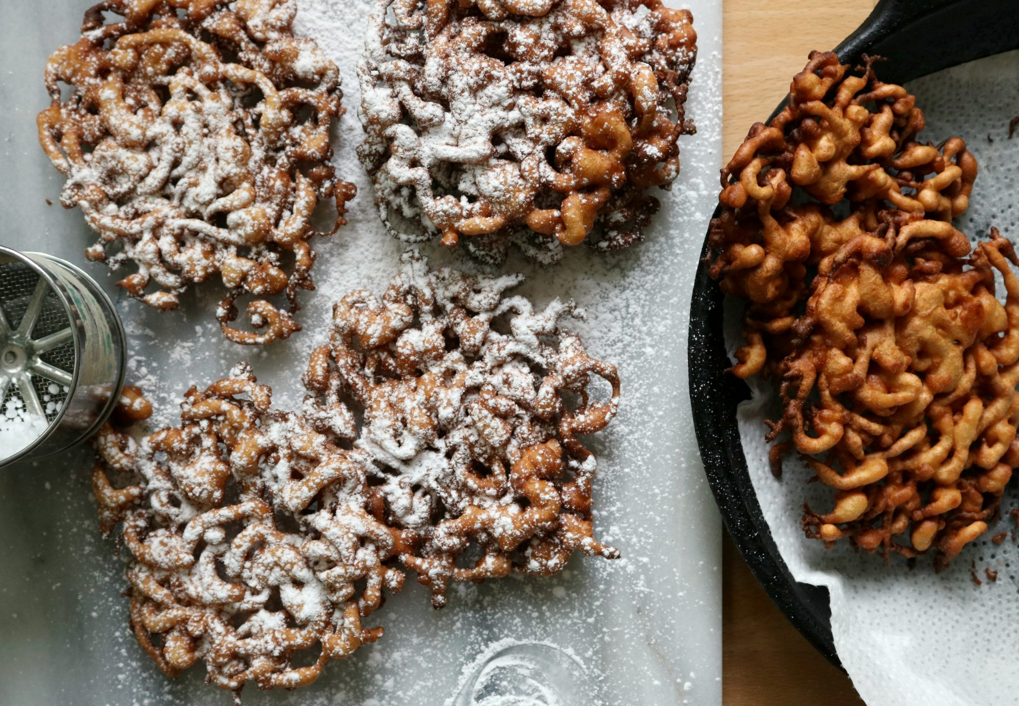 Funnel Cakes Dinner With Julie