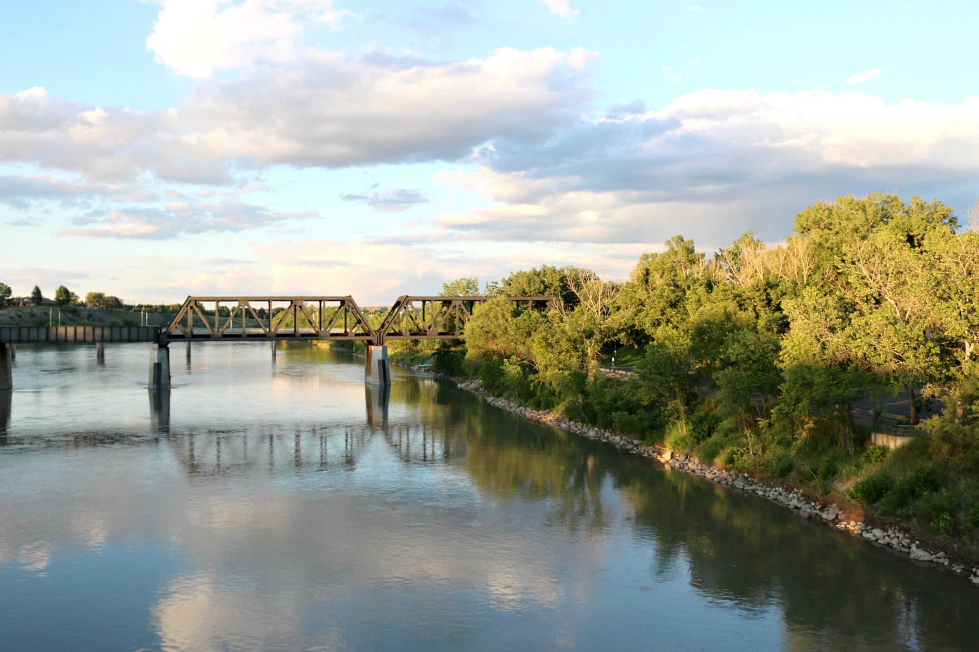 Medicine Hat bridge